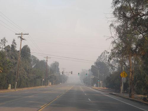 poway empty road