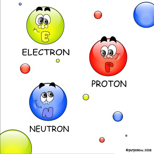 how to get electrons from protons and neutrons